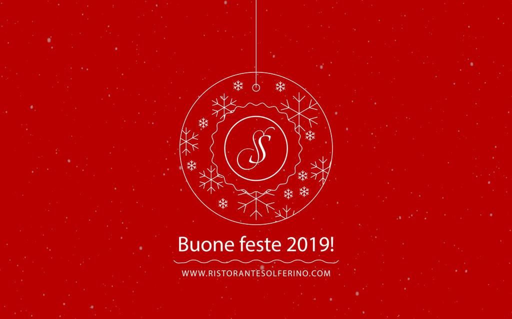 Le feste di Natale al Ristorante Solferino